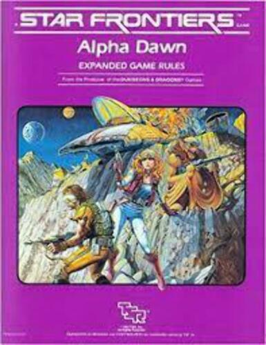 Alpha Dawn Expanded Game Rules (With Map) Star Frontiers