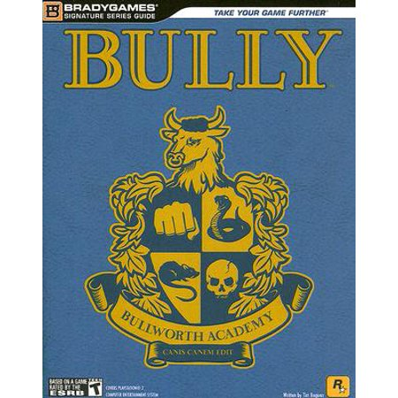 Bully BradyGames Official Strategy Guide (WITH POSTER)