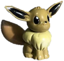 "Eevee 1.5"" TOMY Pokemon"