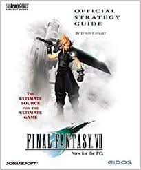 Final Fantasy VII (7) Strategy Guide BradyGAMES