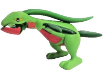 "Grovyle 2.5"" 2004 Hasbro Movable Figure"