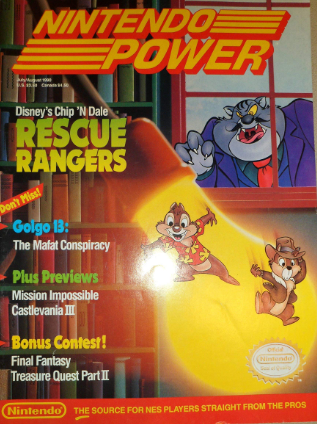Nintendo Power Volume July/August 1990 (WITH POSTER)