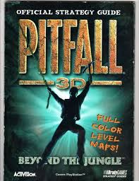 Pitfall 3D Official Strategy Guide BradyGAMES