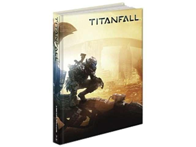 Titanfall Limited Edition Hardcover Official Strategy Guide Book PRIMA