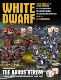 White Dwarf Weekly Issue 93 07 November 2015