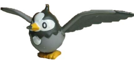 Starly 2007 Jakks Pokemon Figure