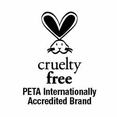 Cruelty Free - PETA Internationally Accredited Brand