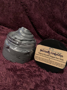 Whipped Natural charcoal face wash
