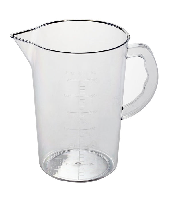 3.0 Liter Polypropylene Measuring Jug