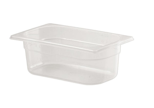1/4 One Fourth Size Polypropylene Gastronorm Container