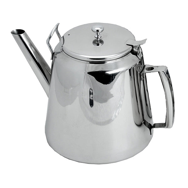 Stainless Steel Tea Pot – Café Pattern 5.6 Liter