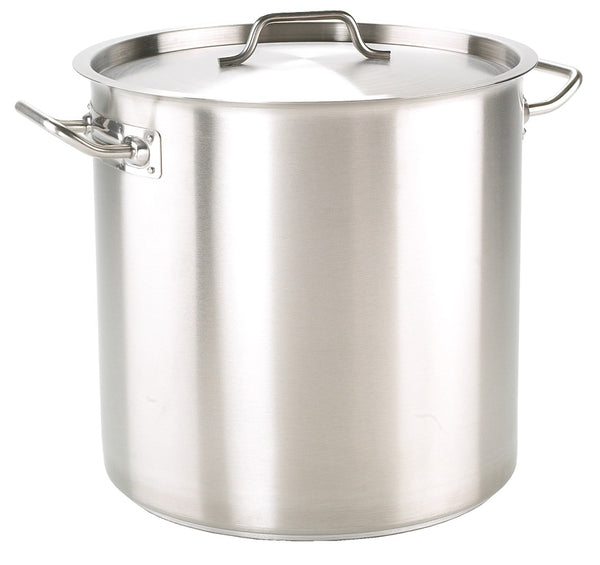 25cm Stainless Steel Stock Pot Without Lid