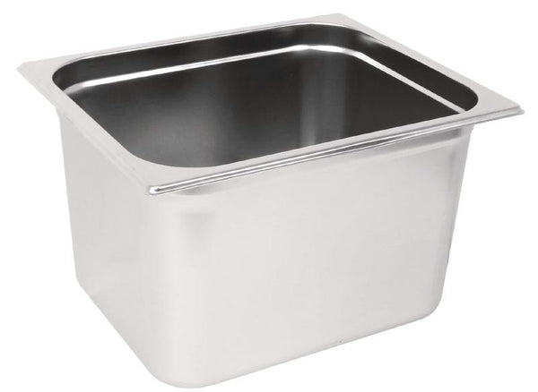 2/3 Two Third Size Stainless Steel Gastronorm Container