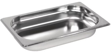 1/3 One Third Size Stainless Steel Gastronorm Container
