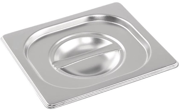 1/6 One Sixth Size Stainless Steel Gastronorm Container
