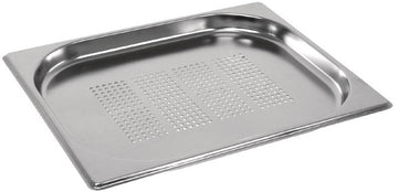 1/2 Half Size Perforated Stainless Steel Gastronorm Container