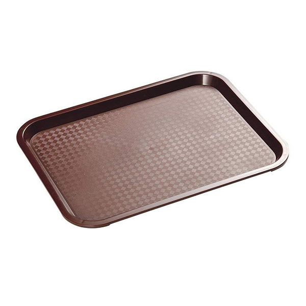 Fast Food Tray Brown