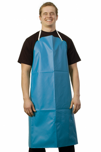 Blue Wash Up Apron
