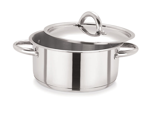 30cm Stainless Steel Casserole & S/S Lid