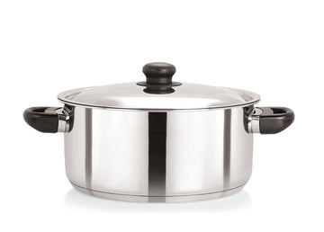 28cm Stainless Steel Casserole with S/S Lid (5118)