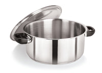 28cm Stainless Steel Casserole with S/S Lid