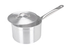 20cm Aluminium Heavy Duty Saucepan Metal Handle