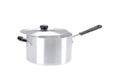 22cm Aluminium Heavy Duty Saucepan Silicon Handle (2922)