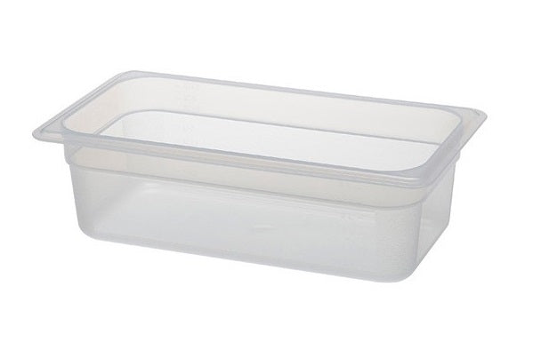 1/3 One Third Size Polypropylene Gastronorm Container