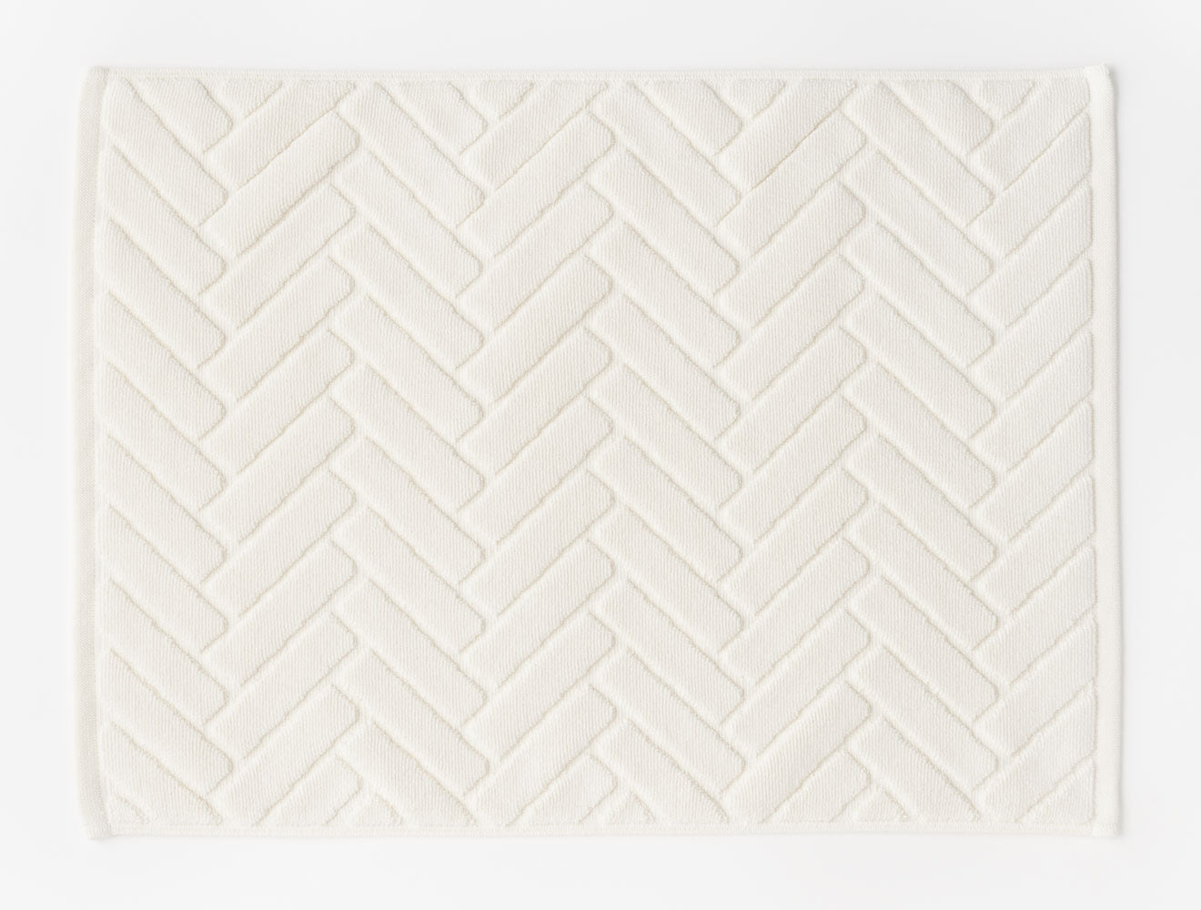 BATH MAT DECK MAT / WHITE