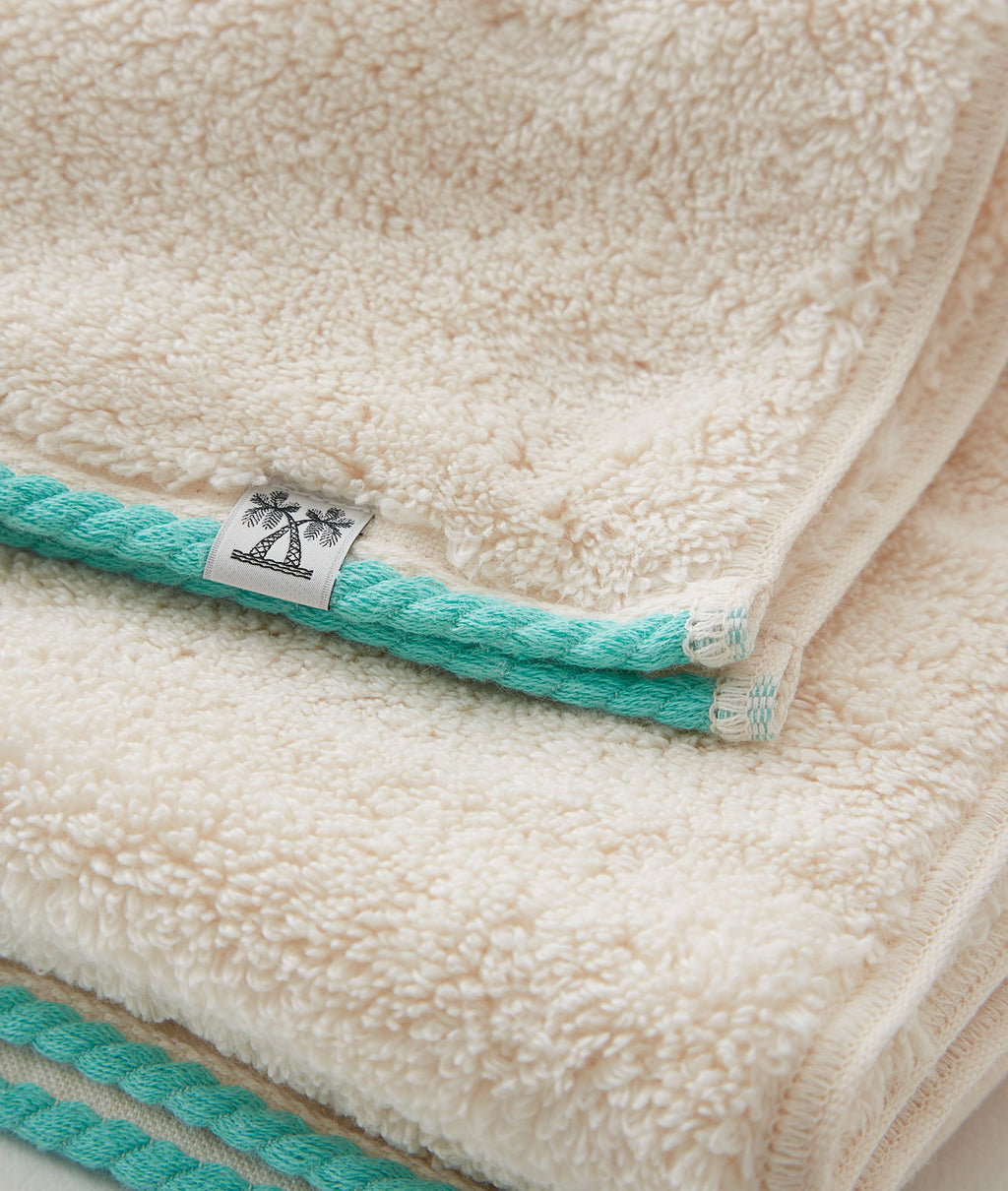 CABIN TOWEL WASH TOWEL / BEIGE