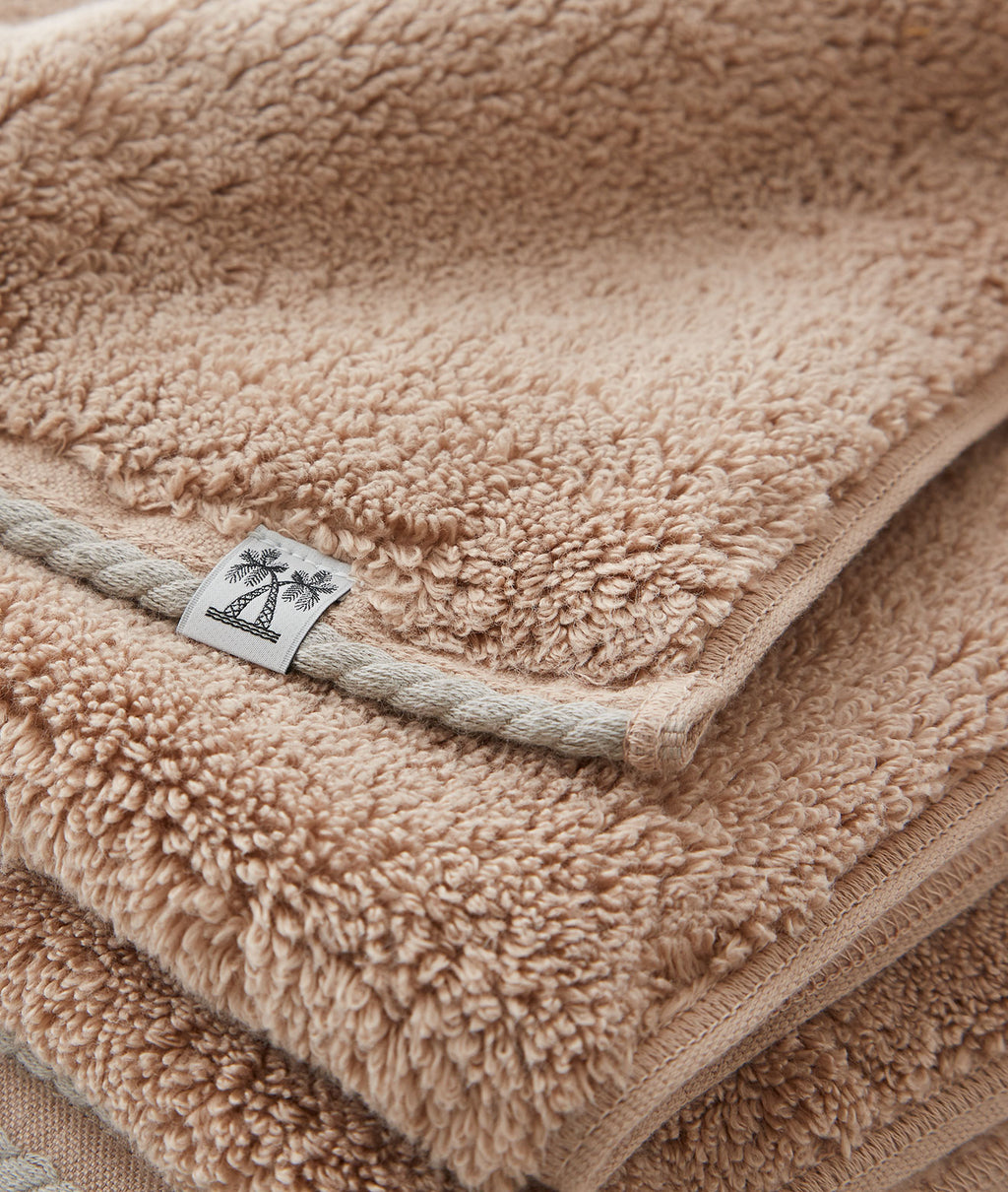 CABIN TOWEL BATH SHEET / CAMEL