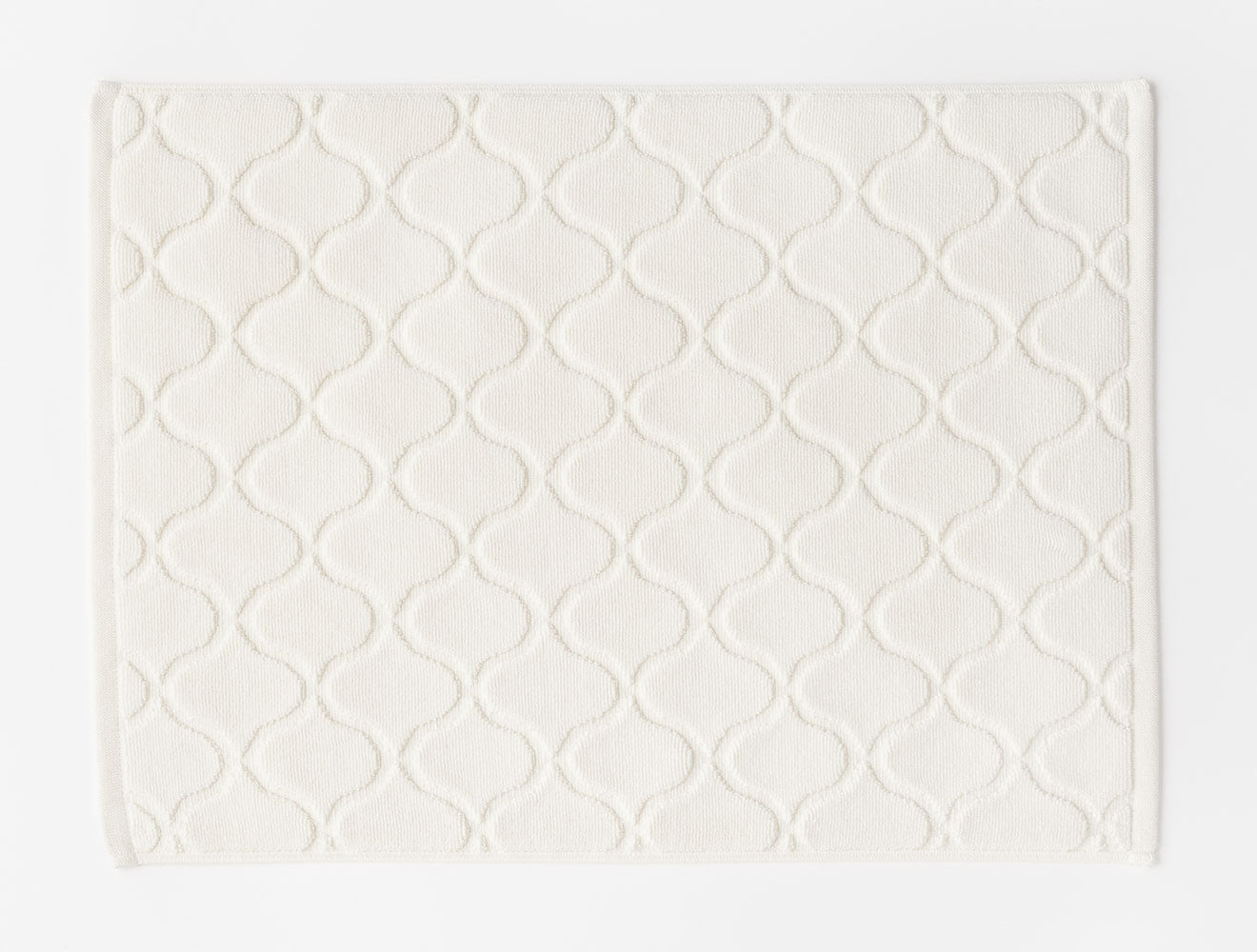 BATH MAT TILE MAT / WHITE