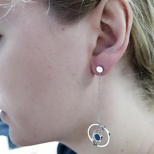 ESS664 STAINLESS STEEL EARRING