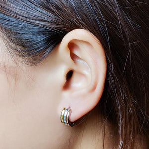 MESS10 STAINLESS STEEL EARRING