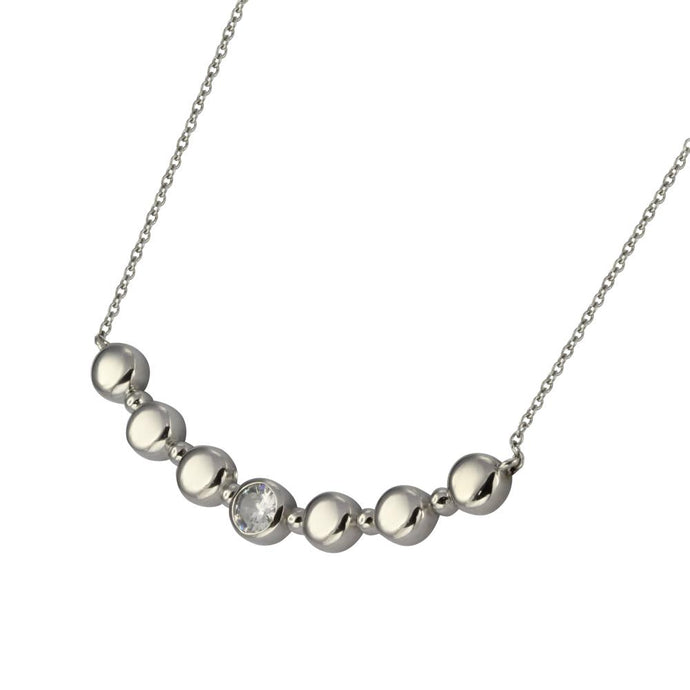 NSS663 STAINLESS STEEL NECKLACE