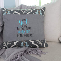 Until God Opens The Next Door Praise Him In The Hallway Embroidery Design - Sew What Embroidery Designs