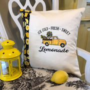 Cold Sweet Lemonade Vintage Truck Embroidery Design - Sew What Embroidery Designs