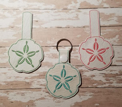 Beach Sand Dollar Embroidery Design - Sew What Embroidery Designs