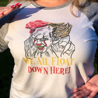 Scary Clown  Sublimation Design