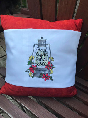 Be The Light For All To See Lantern (Matthew 5:16) Embroidery Design - Sew What Embroidery Designs