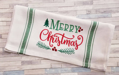 Merry Christmas Embroidery Design - Sew What Embroidery Designs