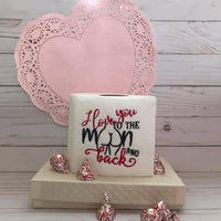 "I Love You To The Moon And Back Female ""Tooshie"" Embroidery Design - Sew What Embroidery Designs"
