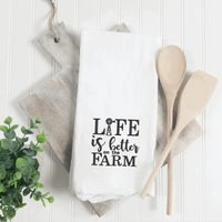 Life Is Better On The Farm Embroidery Design