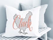 Chicken Cluck Chicken Wire Embroidery Design - Sew What Embroidery Designs