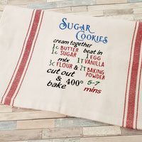 Sugar Cookie Recipe Embroidery Design - Sew What Embroidery Designs
