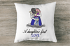 Father and Daughter Love Embroidery Design - Sew What Embroidery Designs