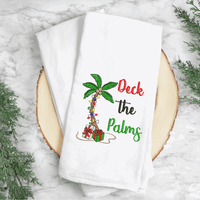 Deck The Palms (Christmas Palm Tree) Embroidery Design - Sew What Embroidery Designs