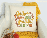 Gather With Grateful Hearts Embroidery Designs - Sew What Embroidery Designs
