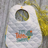 I'm TWO Sweet Birthday Embroidery Design - Sew What Embroidery Designs