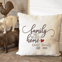 Family Makes This House A Home Embroidery Design - Sew What Embroidery Designs